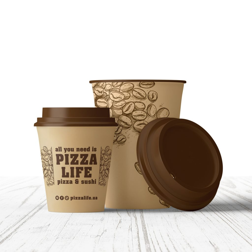 Pizza&Sushi Life cup