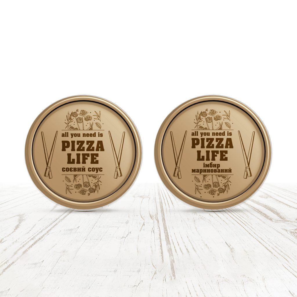 Pizza&Sushi Life logotype