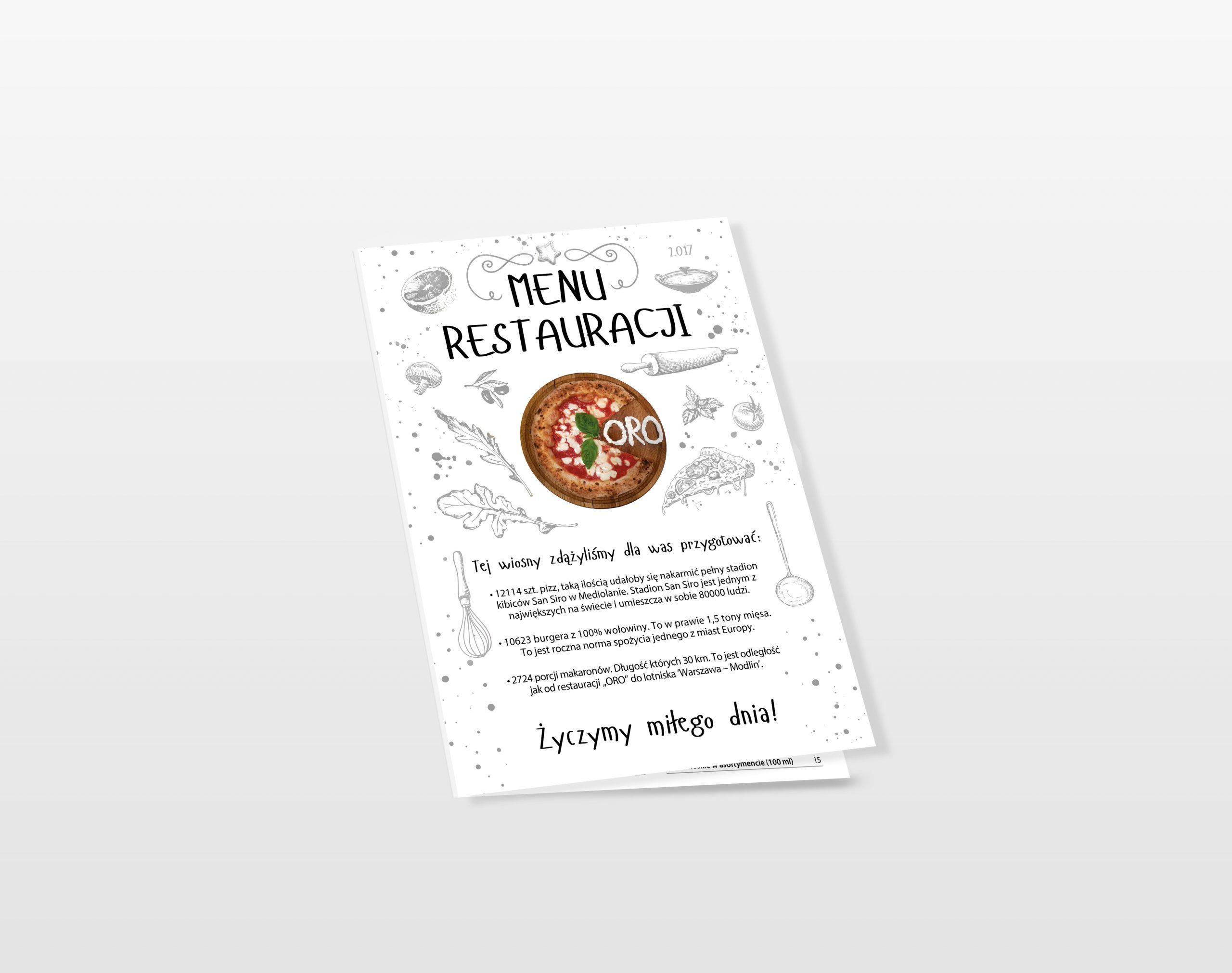 ORO menu 4