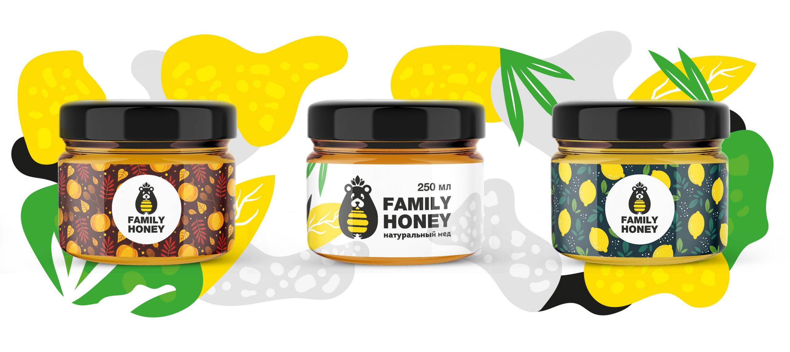 Family Honey logotype