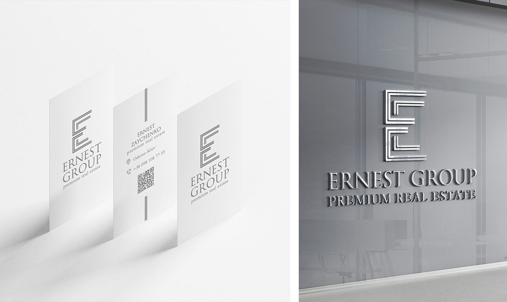 Ernest Group bussiness cards