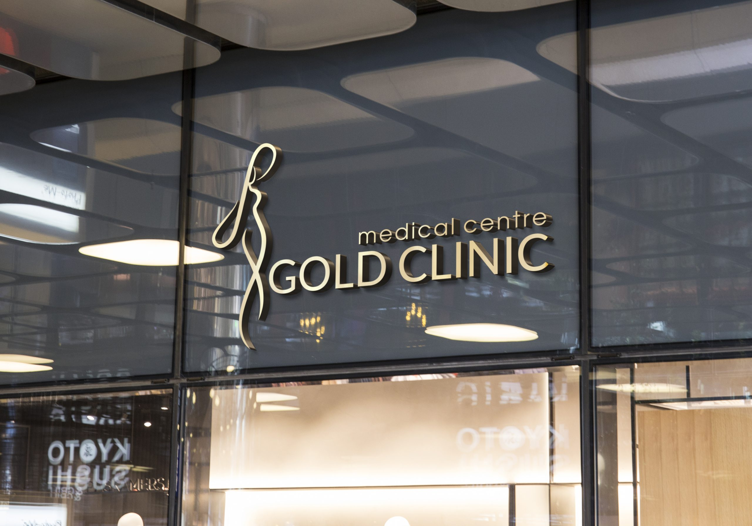Gold Clinic logo
