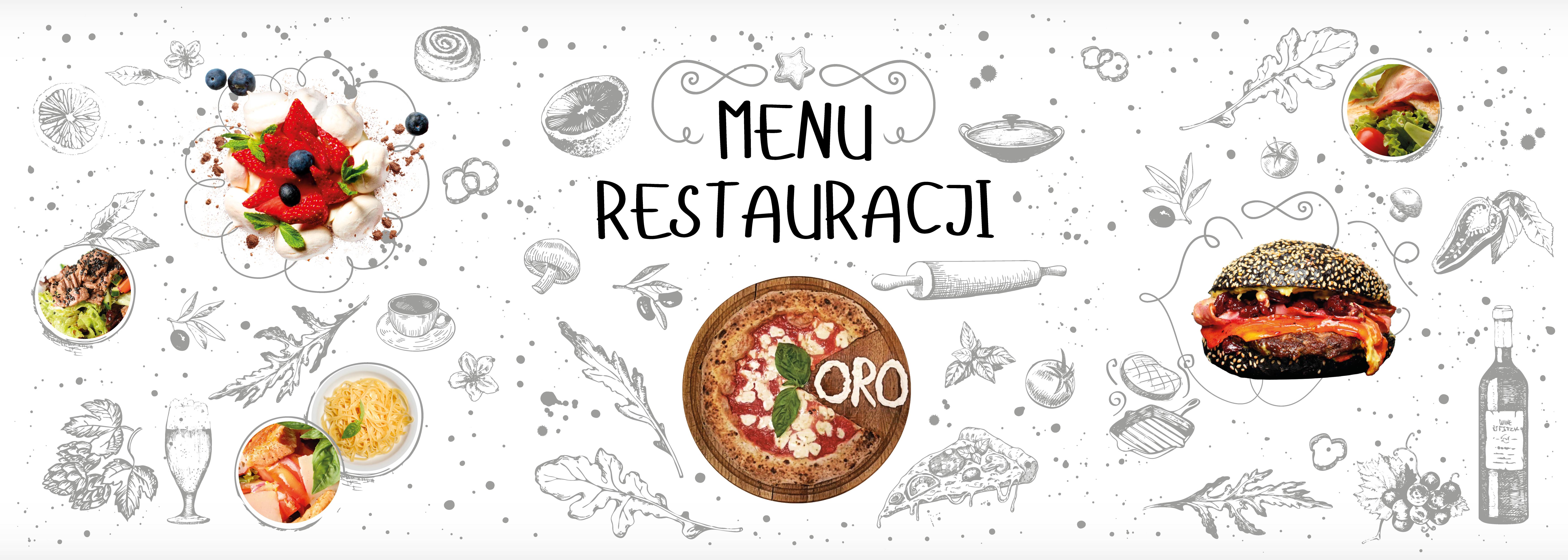 ORO menu top