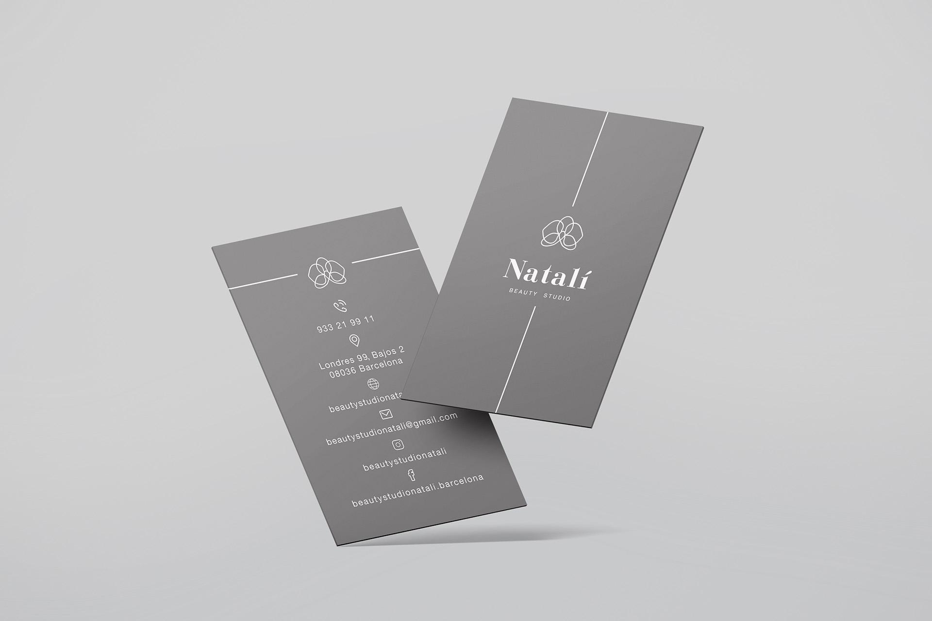 Nataly визитки