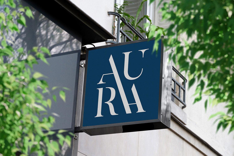 AURA logotype