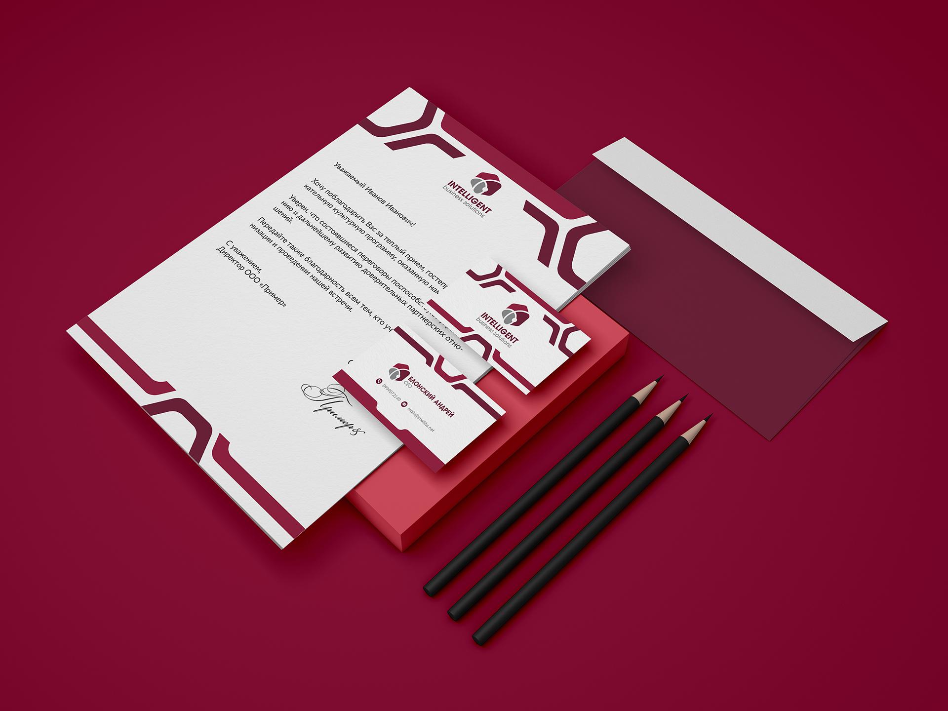 Intelligent Business Solutions branding