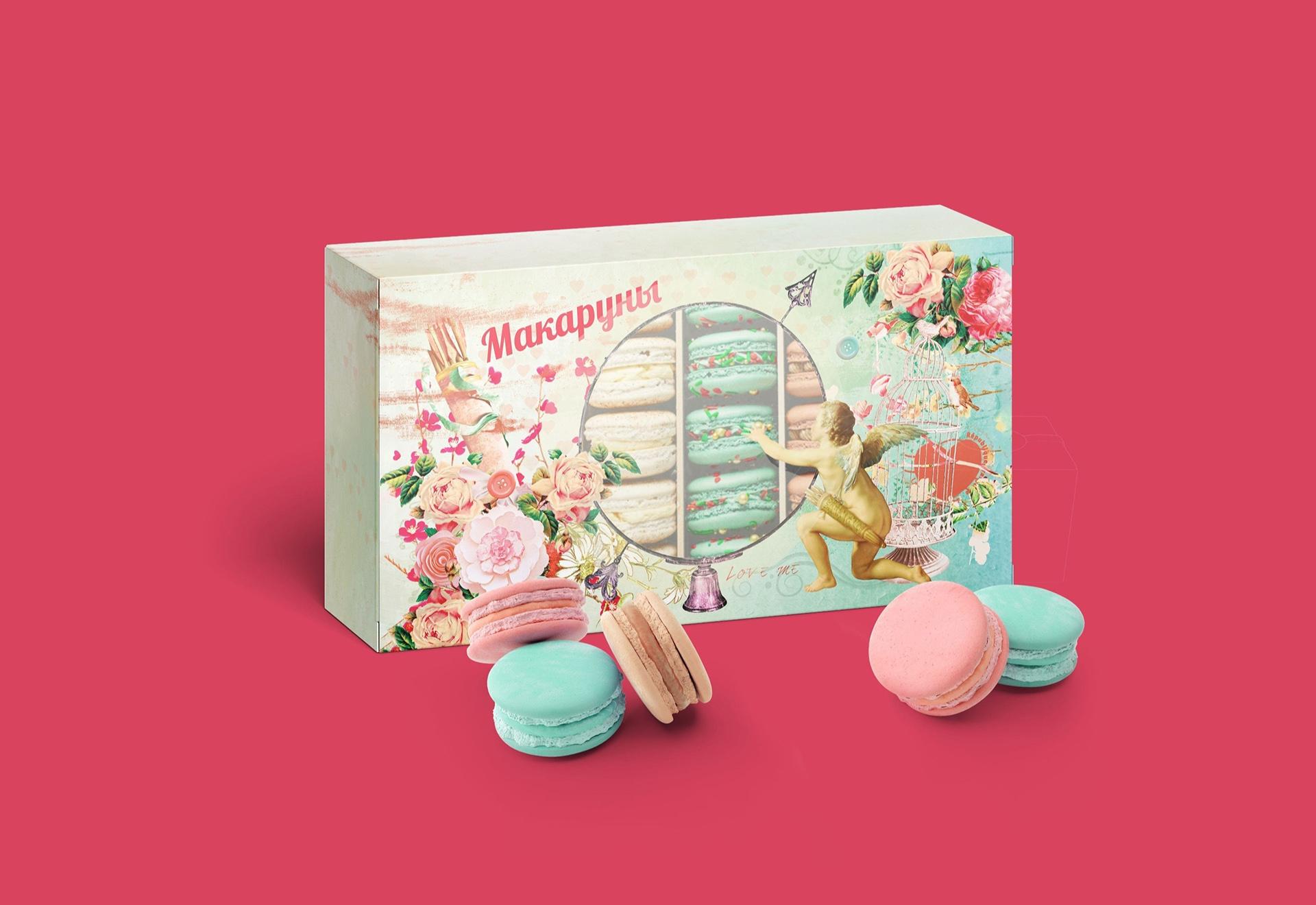 Macaroons дизайн упаковки