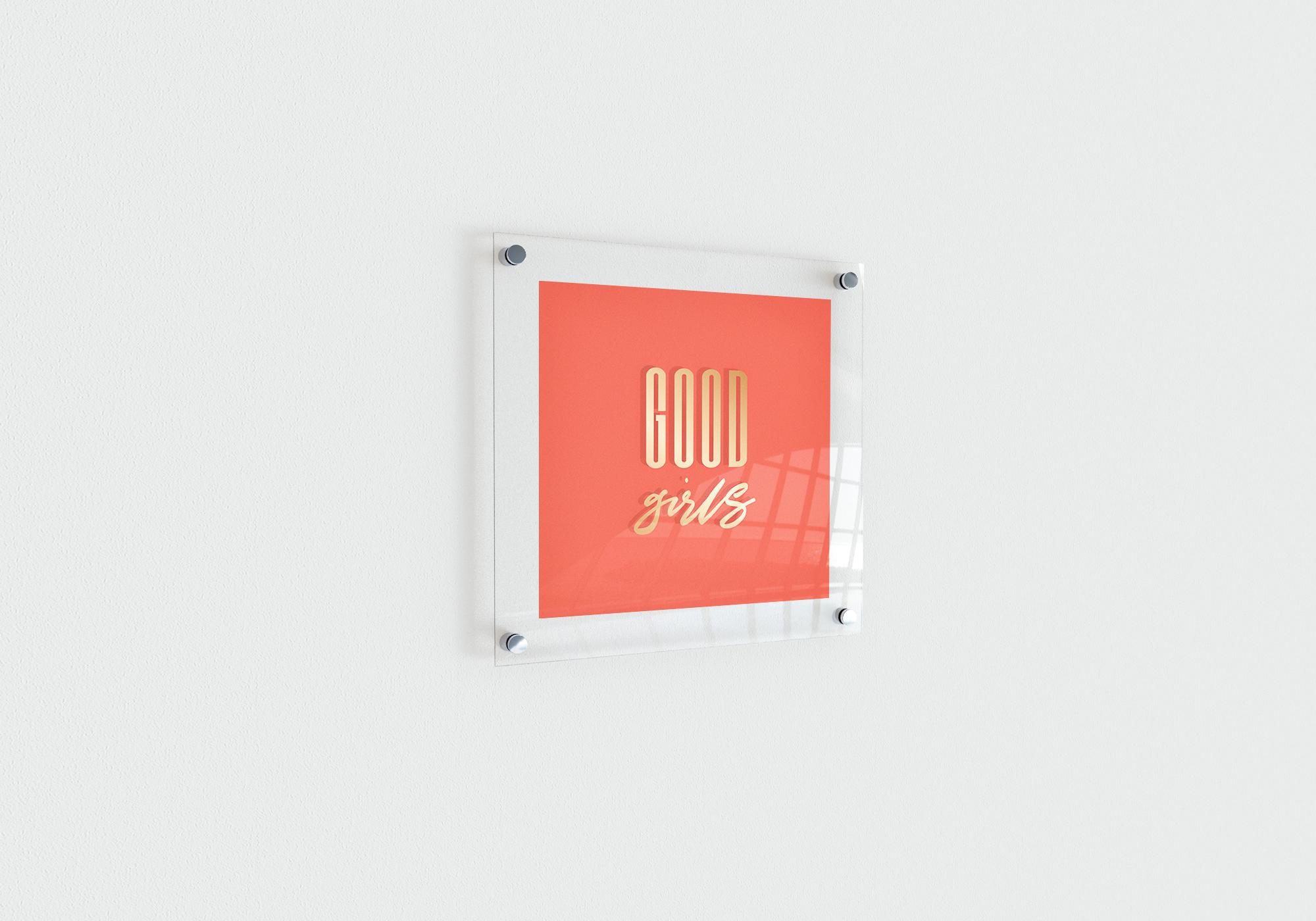 Good girls создание логотипа