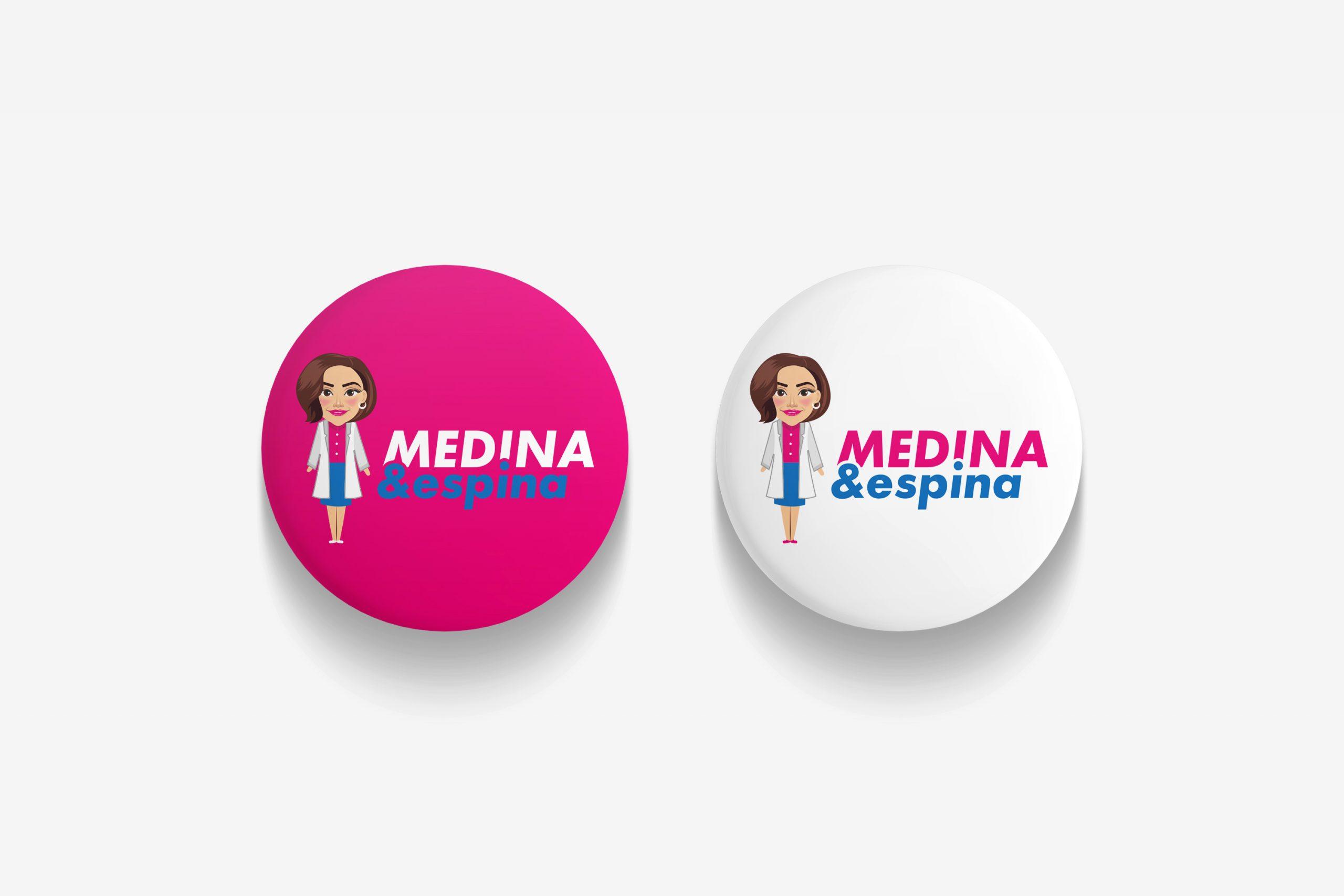 Medina Espina разработка полиграфии