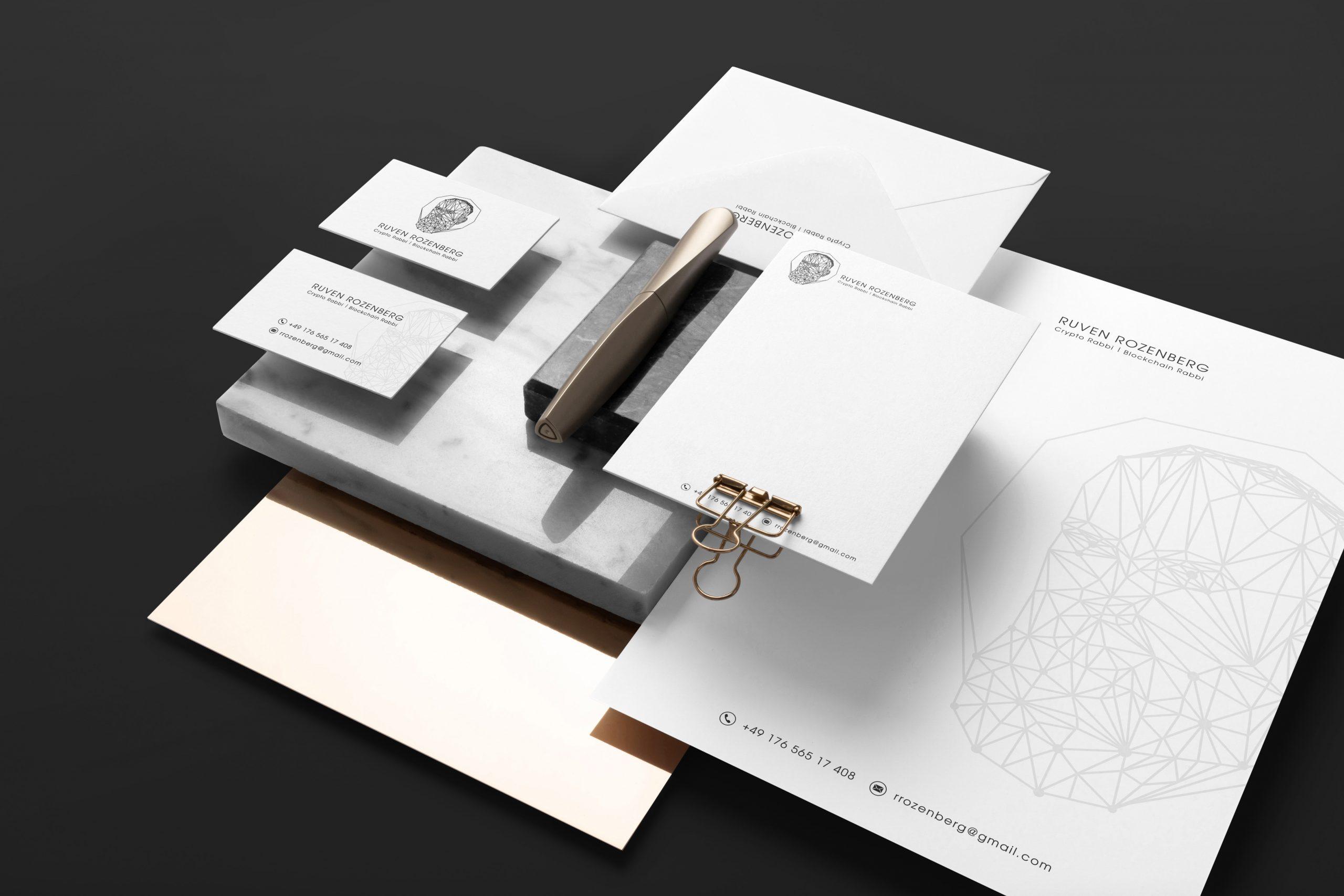 Ruven Rozenberg дизайн фирменного стиля