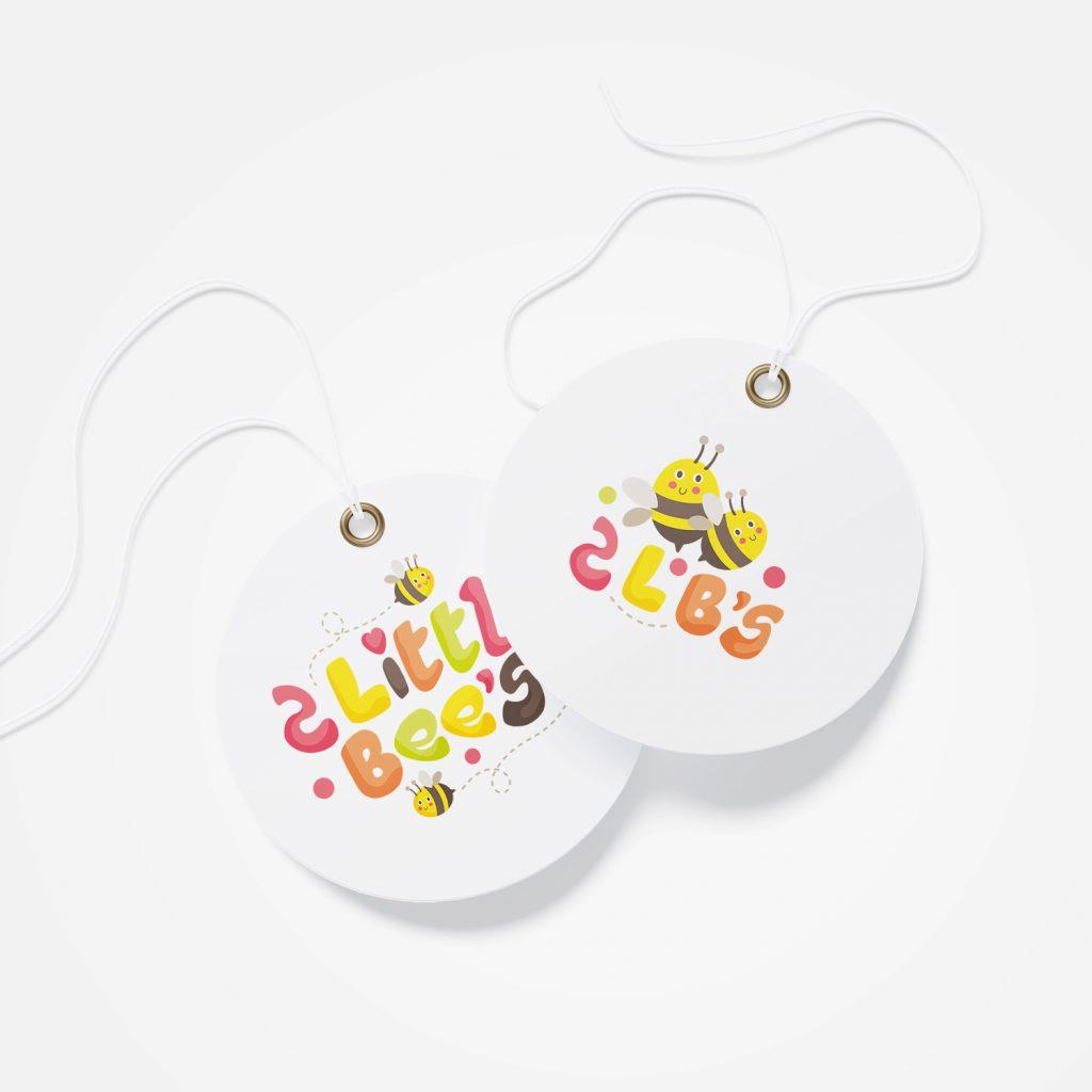 2 little bees разработка полиграфии