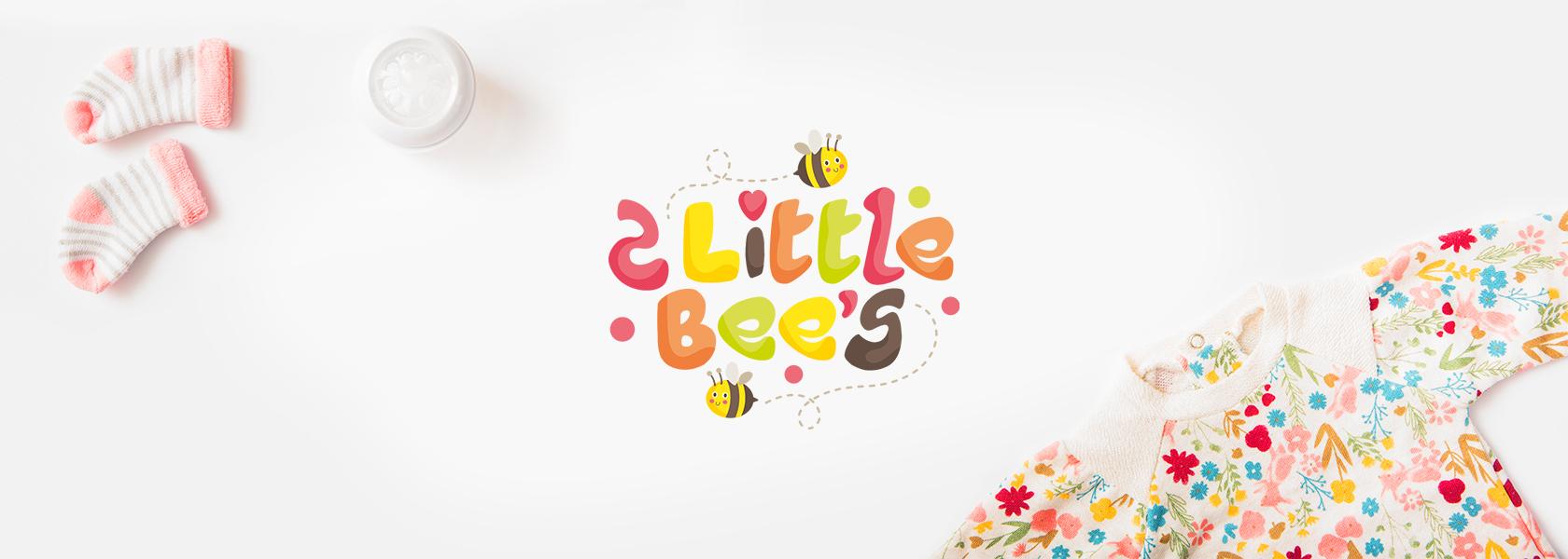 2 little bees разработка логотипа