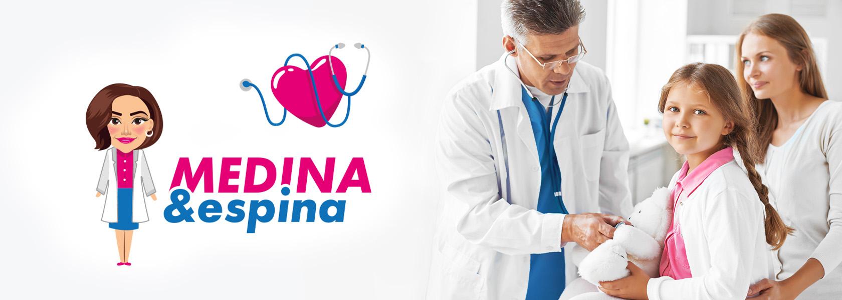 Medina Espina Разработка логотипа