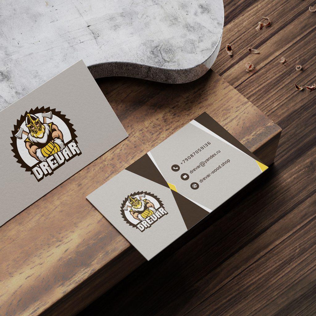 Drevar визитки