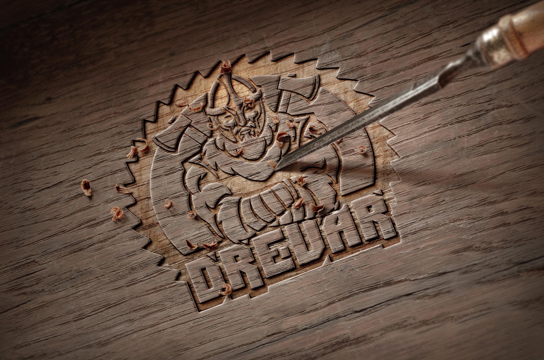 Drevar создание логотипа