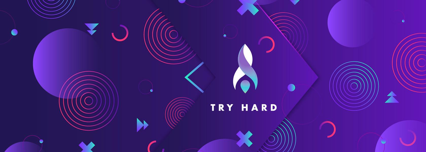 Try hard разработка лого