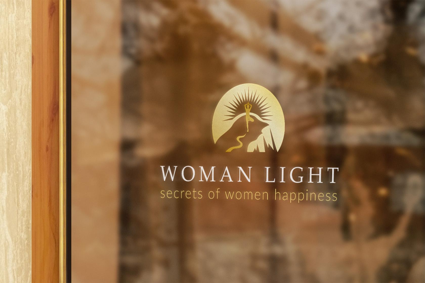 Woman Light дизайн интроролика