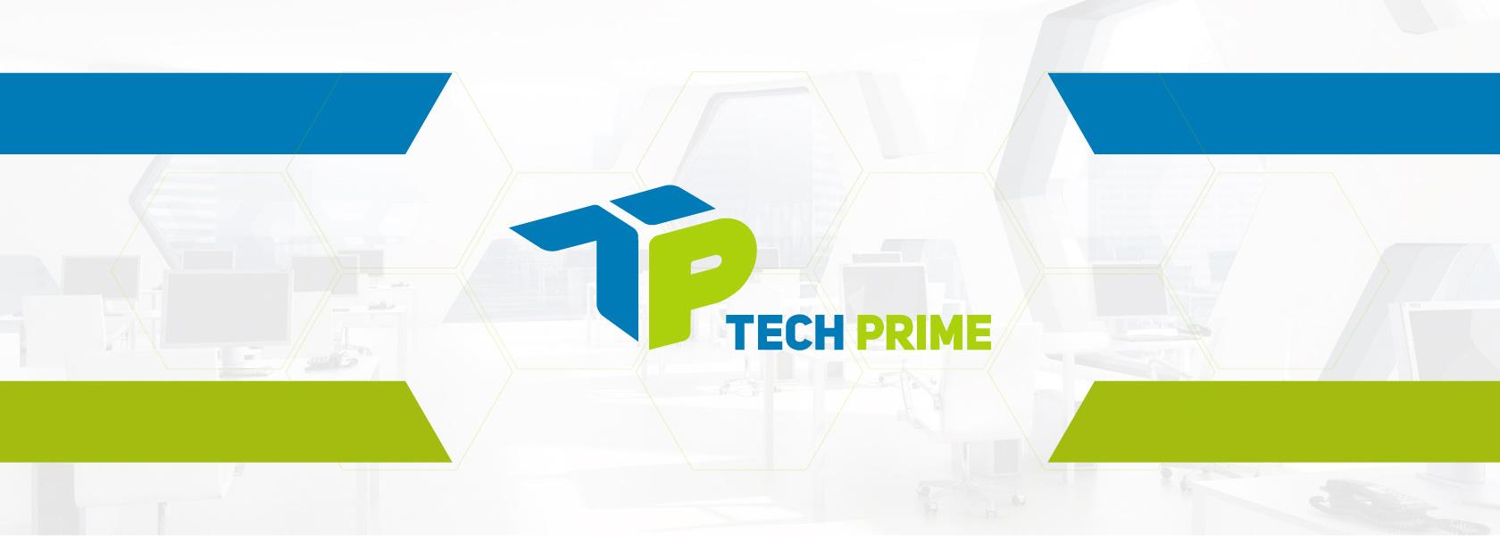Tech Prime создание лого