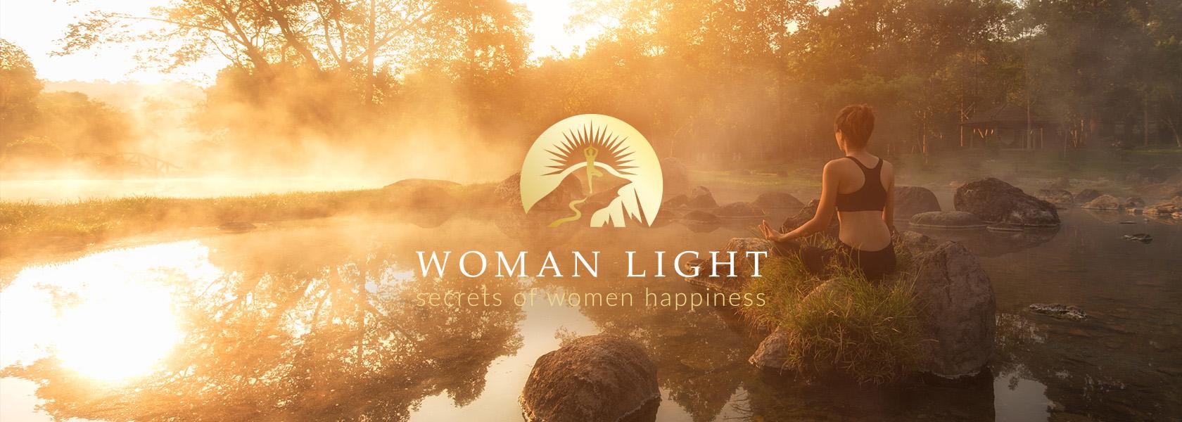 Woman Light дизайн логотипа